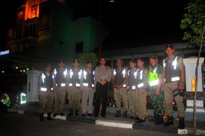satpol pp dengan kapolres dan TNI
