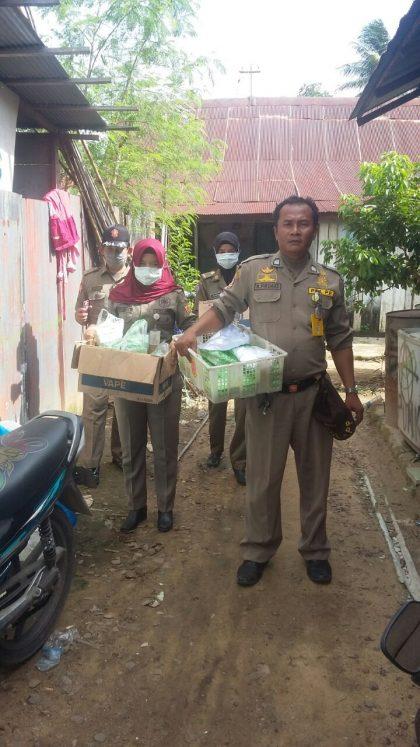SITA - 89 kotak kue klepon diamankan satpolpp kota