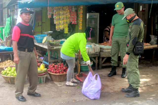 Bersih Pasar Bauntung